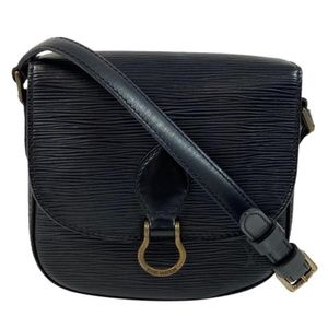 Louis Vuitton Epi Saint Cloud PM in Black